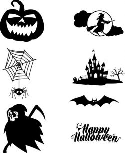Halloween holiday themed designs