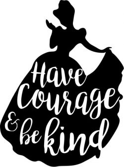 Have courage and be kind t-shirt print image