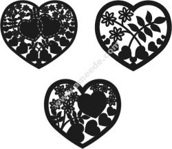 Heart vector cage heart