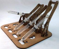 Hydraulic arm controller