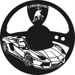 Lamborghini super sports watch