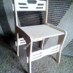 Laser Cut Chair CNC Template