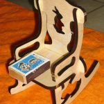 Laser Cut Doll Chair 6mm