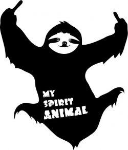 My Spirit Animal T-shirt print image