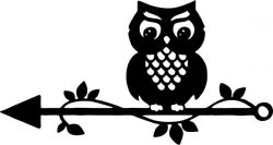 Owl template for Cricut Silhouette Digital Decal Clipart Wedding Decoration