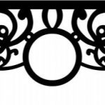 Pattern of big frame curtain is designed according to the sun symbol