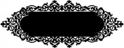 Perfect mirror frame decoration pattern