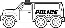 Police cars catch criminals