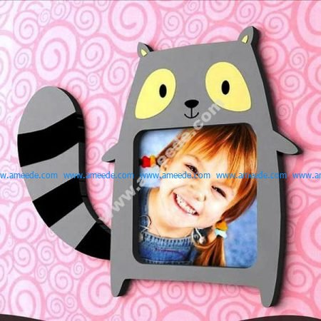 Raccoon Picture Frame