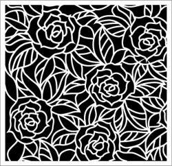 Rose wall paintings file .cdr and .dxf free vector download for Laser cut plasma