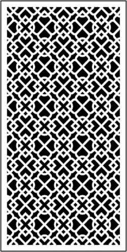Sample baffle decorated living room  file .cdr and .dxf free vector download for CNC cut
