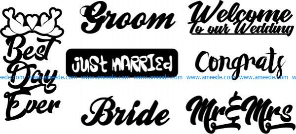 Slogans commonly used in laser engraving
