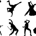 Some of the dances are recorded by drawing