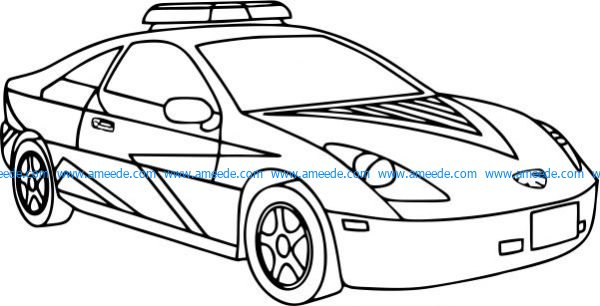 Special police vehicle design