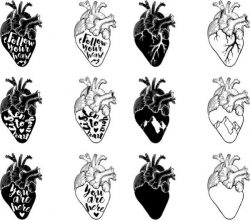 T-shirt printing images of hearts have many meanings