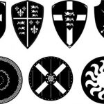 The shield symbolizes the security force