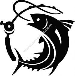 Tuna fishing club symbol