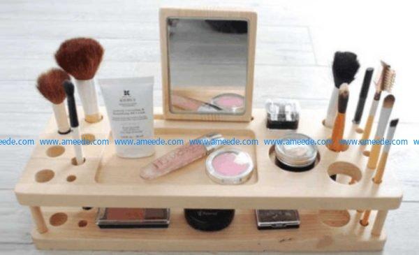 makeup rack vector