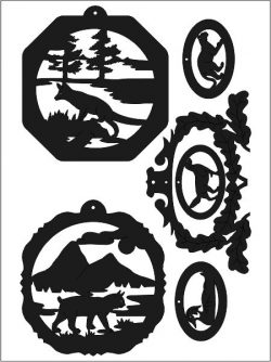 animal sticker vector