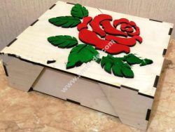 Optional box with a rose