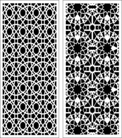 complex geometric baffles