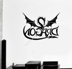 decorate the music room with the symbol of immortal dragon