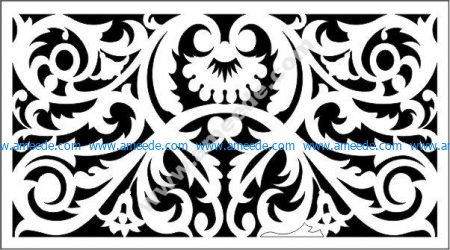 decorative panel screen