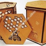 honey box laser cut
