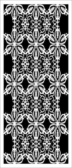floral partition design