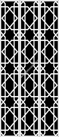 geometric texture baffle