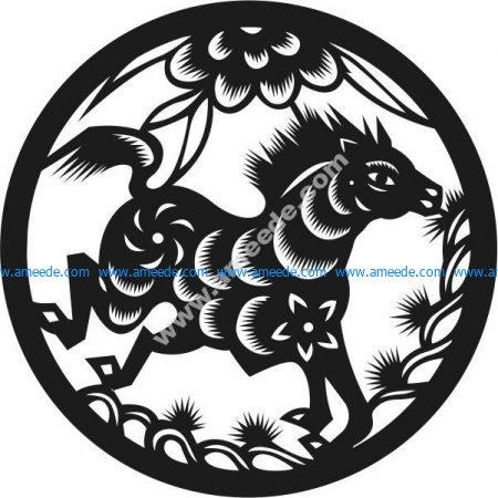 horse - seventh zodiac