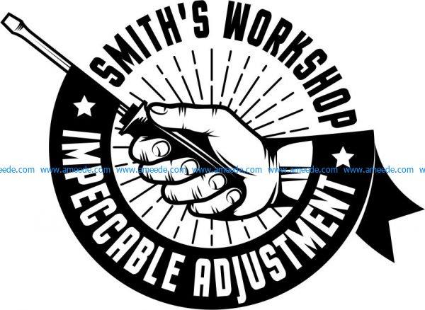 image printed smith t-shirt workshop