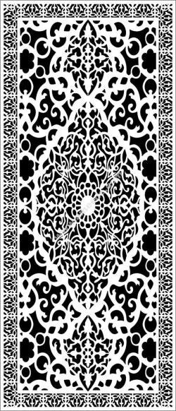 intricate pattern partition