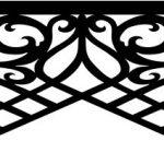 large frame pattern unique fancy design