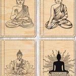 laser cut buddha cover