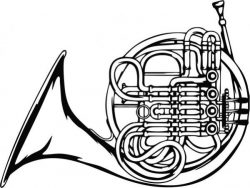 laser engraving of the Tuba Trumpet in the symphony orchestra
