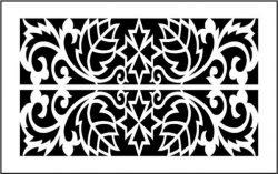 leaf motifs partition