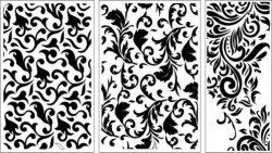 leaf texture baffle design