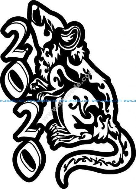 mouse mascot 2020