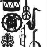music instrument sticker