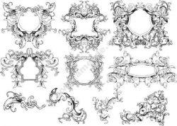 ornament borders set