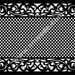 pattern cut cnc partition