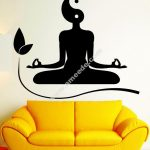 pictures of a sitting room doing yoga or meditation