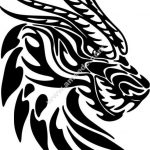 prehistoric dragon head