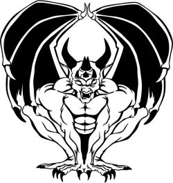 satan demon design drawings