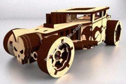 skull car vector