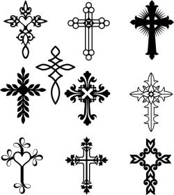 the iconic design of the sacred beauty of the cross