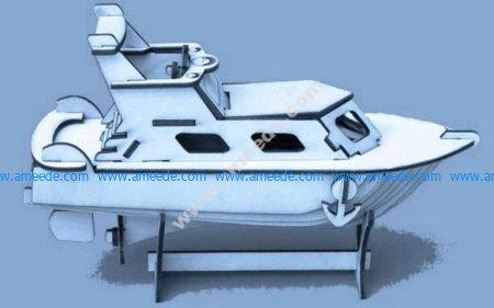 vector yacht model