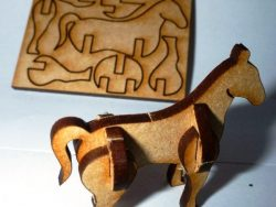 wooden horse toys for baby
