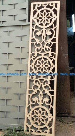 wooden pattern wall paneling by cnc machine